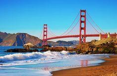 San Francisco's 15 Best Views Golden Gate Bridge via @fodorstravel