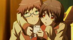 Hashiba and Kobayashi | Hashiba we c u... | Ranpo Kitan: Game of Laplace○°