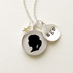 Mothers Day Large Sterling Personalized Child by craftedbykerstin, $85.00