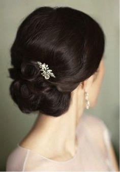 A black tie affair calls for elegant hair!
