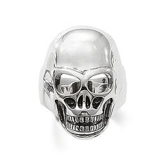 THOMAS SABO Sterling Silver Rebel at heart Ring Article number: TR1704-001-12