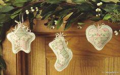 Patchwork ornaments