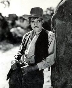 Boris Karloff as Henchman Baxter in The Utah Kid, also known as Bring 'Em in Dead, 1930.