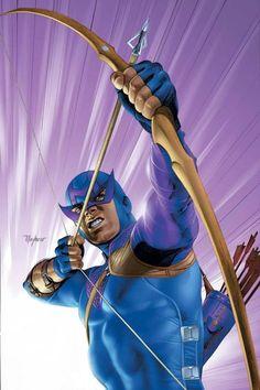 Hawkeye by Mike Mayhew
