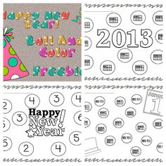 New Year Freebies!  Smedley's Smorgasboard of Kindergarten: A Kindergarten Smorgasboard of New Year's Ideas!