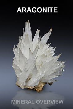 Detailed overview about aragonite, see more http://www.mineralexpert.org/aragonite-mineral-carbonate