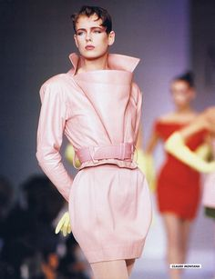 JENNY HOWORTH for Claude Montana  SHE WAS EVERYWHERE IN THE 80S!!