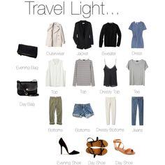 """Travel Light... Prague."" by keelyhenesey on Polyvore"