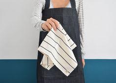 Minimal Linen Tea Towels by FAROstore