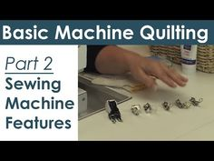 ▶ Sewing Machine Features for Machine Quilting and Free Motion Quilting - YouTube