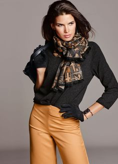 Madeleine Sweater and Scarf