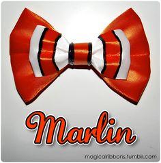 Magical Ribbons Disney Bows - Magical Ribbons - Marlin (Pixar)