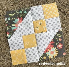 Blockheads Block #2 | Coriander Quilts | Bloglovin'