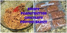 work in progress: Peanut Butter Protein Rice Krispy Treats