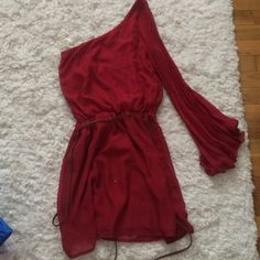 Off the shoulder dress Beautiful red off the shoulder dress Necessary Clothing Dresses