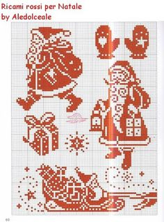 Christmas cross stitch for placemats Xmas Cross Stitch, Just Cross Stitch, Cross Stitch Charts, Cross Stitch Designs, Cross Stitching, Cross Stitch Embroidery, Cross Stitch Patterns, Knitted Christmas Stockings, Christmas Knitting