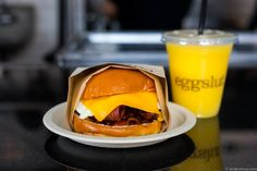 Bacon, Egg & Cheese at Eggslut
