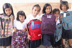 HHC 2014 Slums, Vera Bradley Backpack, School Supplies, Van, Children, Fashion, School Stuff, Young Children, Moda