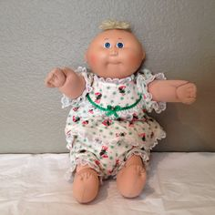 Vintage 1978 1982 Cabbage Patch Baby Doll 15 by KMSCollectibles