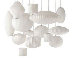 Bubble lampe par George Nelson