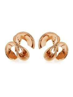 Maurizio Pintaldi  Diamond & rose-gold earrings