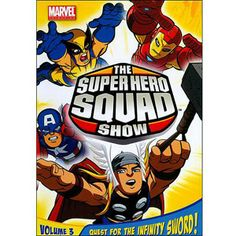 The Super Hero Squad Show: Quest For The Infinity Sword, Volume 3 (Full Frame)