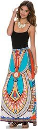 SWELL BELMONT PRINTED MAXI SKIRT   Swell.com