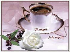 Good Morning, Tea Cups, Mugs, Tableware, Pictures, Buen Dia, Dinnerware, Bonjour, Tumblers