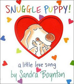 Valentine Themed Mommy and Me book club based on the book Snuggle Puppy! So many fun activities.
