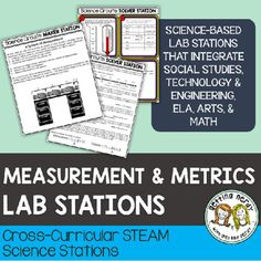Getting Nerdy Science: Life Science and Biology Lessons Biology Lessons, Science Lessons, Life Science, Science Stations, Science Centers, Metric Conversion, Metric System, Math Measurement, Next Generation Science Standards