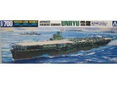 AOS1486 1:700 Aoshima Japanese Aircraft Carrier Unryu