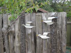 Image result for corrugated metal yard art