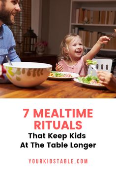 Get 7 simple ways to help keep your child seated at the table longer so they stop getting up or only eat for a few minutes! Don't miss this if you've got a busy toddler or a picky eater.#mealtimeroutine #mealtimeroutineforkids #mealtimerules #mealtimerulesforkids Healthy Eating Habits, Healthy Meals For Kids, Kids Meals, Rules For Kids, Kids Seating, Kid Table, Simple Way, Your Child, Sensory Diet