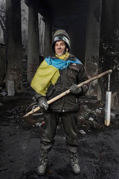Stunning Portraits Of The Ukraine's Maidan Protesters