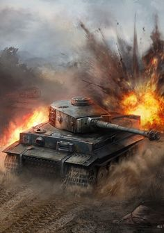 🔶Which tank do you like more, the Panther or the Tiger The Tiger one was made at pretty much the same time as the Panther tanks, and…