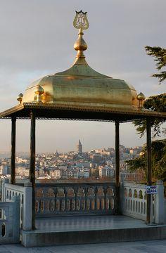 Topkapı Sarayı'ndan, Istanbul, Turkey.