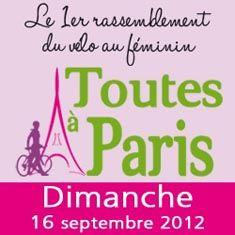 Toutes à Paris à vélo