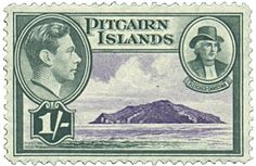 Pitcairn Islands postage stamps | File:PitcairnIsland-Stamp-1940-Fletcher Christian.jpg - Wikipedia, the ...