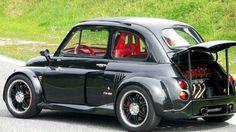 Fiat 500 with Lamborghini engine! - Fiat 500 with Lamborghini engine! Fiat Abarth, Automobile, Fiat Cars, Kart, Small Cars, Vw Bus, Supercars, Bugatti, Motor Car