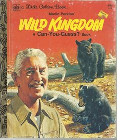 Marlin Perkins' Wild Kingdom Little Golden Book