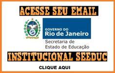 Acesse seu email institucional SEEDUC!