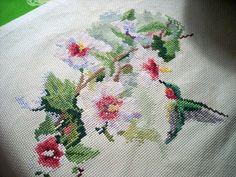 Hummingbirds & Flowers by Depth Charge Ethel, via Flickr