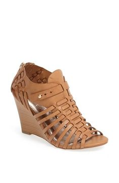 Kendall & Kylie for Madden Girl 'Brinn' Wedge Sandal available at #Nordstrom Kind of in love with some of the stuff from this collection. These would be so cute with maxis, dresses, shorts, and rompers; great for when you want a little height but don't feel like rocking a sky-high wedge.