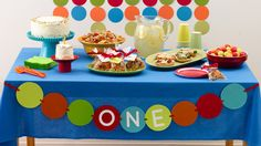 Baby's first birthday calls for a fun shindig for all! From the cake to party ideas, we keep it colorful, playful (and round).