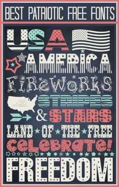DIY 4th of July : DIY 4th of July Free Printable