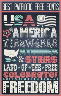 DIY 4th of July : DIY 4th of July Free Printable