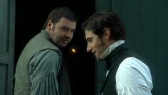 Mr. Thornton and Nicholas Higgins. What a great friendship that they formed. North and South Pictures | North and South, BBC | Les Lectures de Cachou