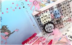 Beautiful Box by Aufeminin juillet 2016 spécial Nail Art - Blog beauté Les Mousquetettes©