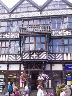 Ancient High House, Stafford, England. Said to be the largest timber framed house in England, built in 1596 by John Dorrington