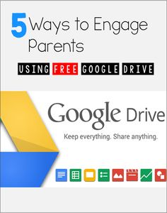 5 Ways to Engage Parents Using Google Drive - Awesome ideas for gathering contact information, creating digital behavior contacts, and using Google forms for Parent-Teacher Conference sign ups. Genius!